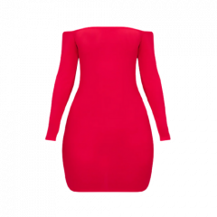 PETITE BARDOT BDOYCON MINI DRESS | RED