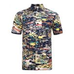 MENS SHORT SLEEVED PRINT SHIRT