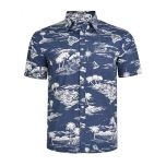 MENS AOP SHORT SLEEVED SHIRT
