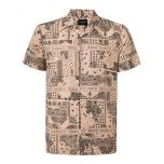 MENS PALM PRINT HAWAIIN SHIRT